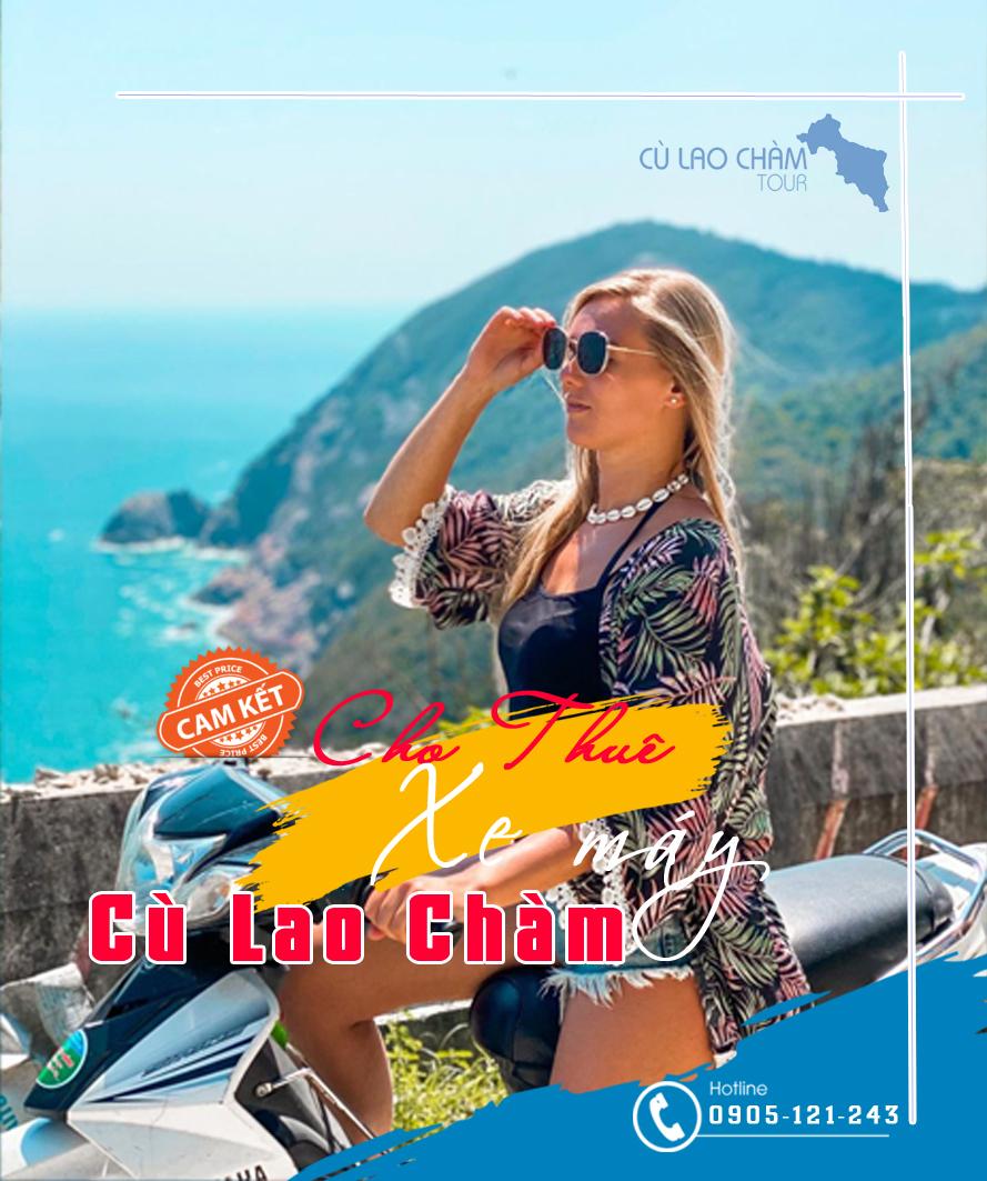 Dịch vụ cho thuê xe máy Đảo Cù Lao Chàm