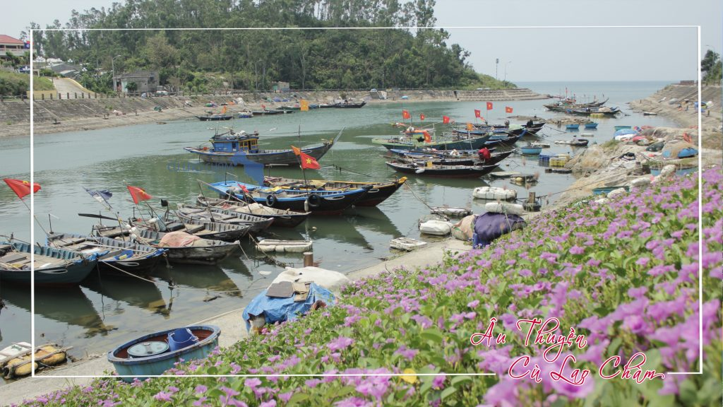 Âu thuyền Cù Lao Chàm