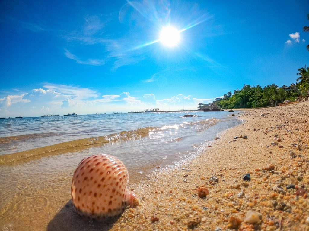 Biển Bãi Hương Cù Lao Chàm