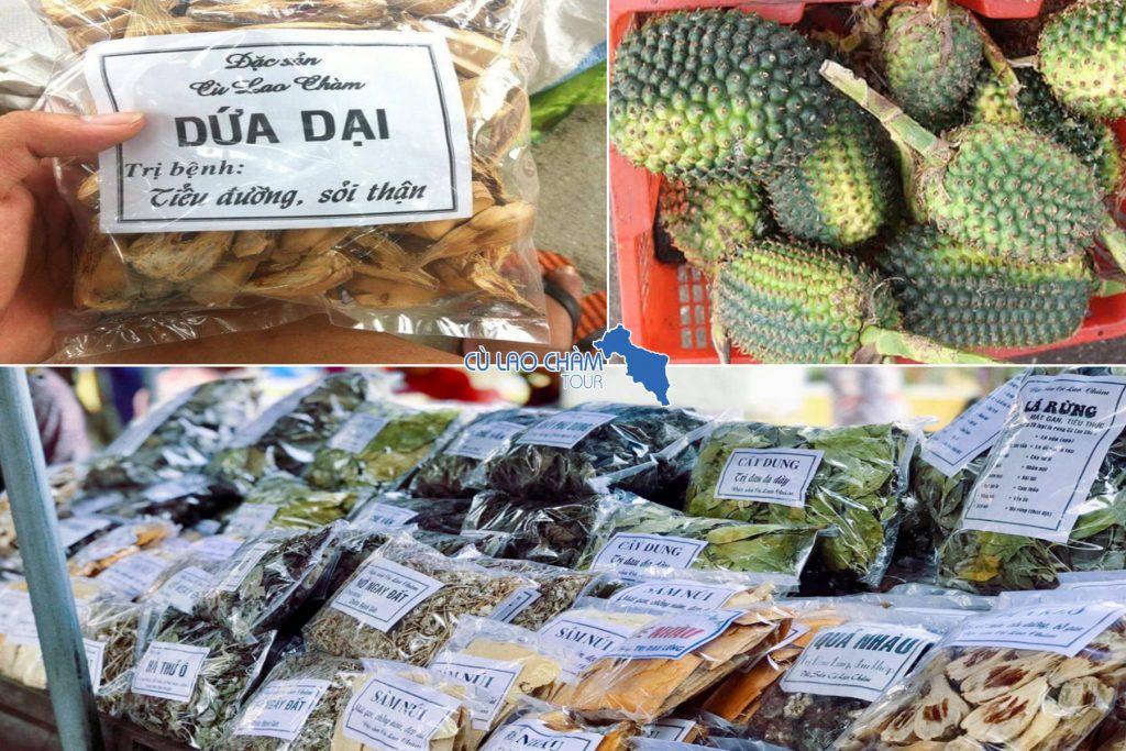 Đặc sản lá dứa rừng đảo Cù Lao Chàm