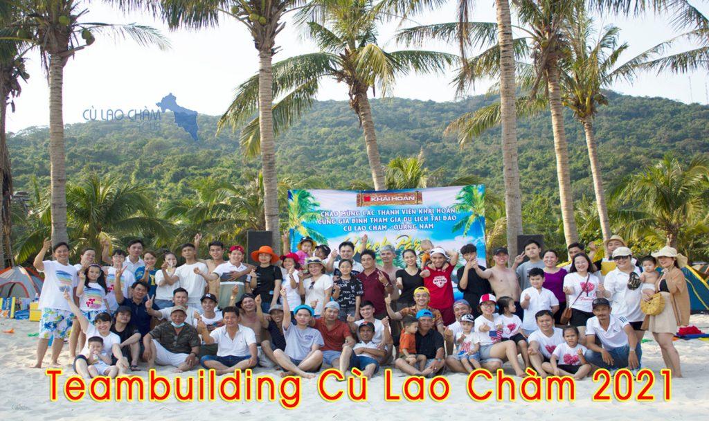 Khách tham gia tour Cù Lao Chàm 2 ngày 1 đêm