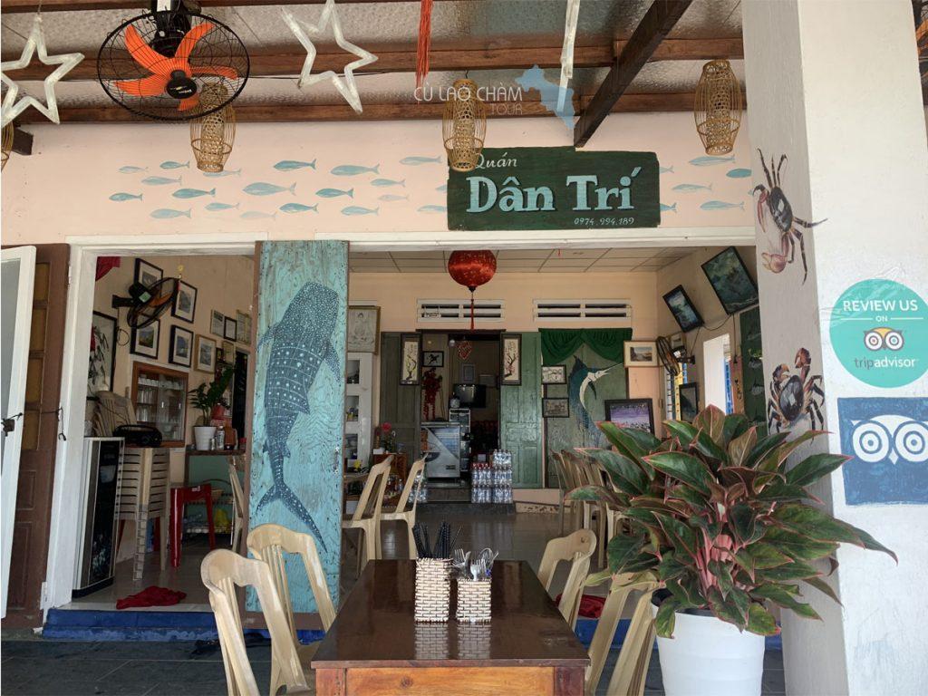 Nhà hàng Dân Trí Cù Lao Chàm