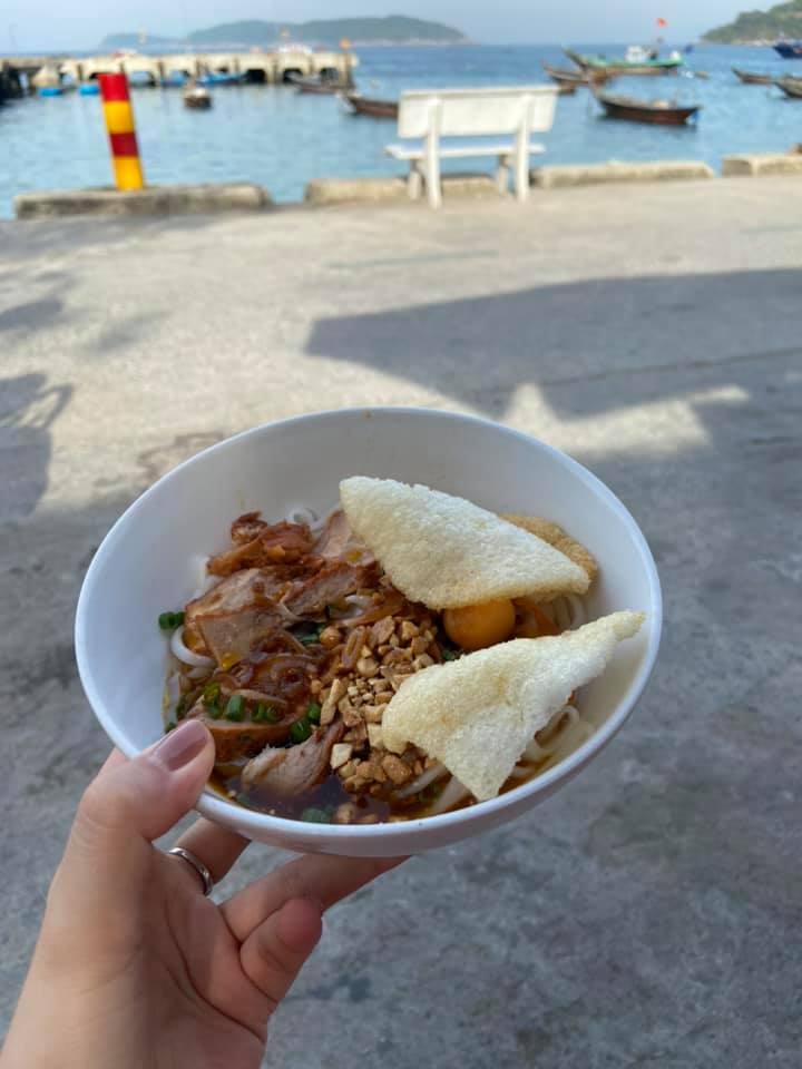 Mỳ Quảng - Món ăn dân dã của ngư dân trên đảo