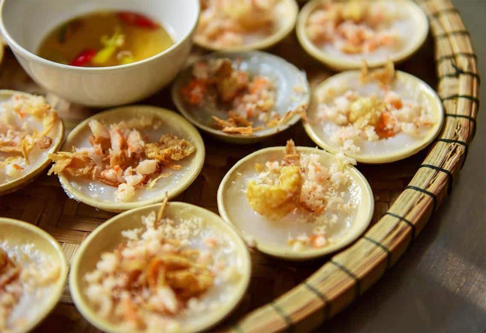 Bánh bèo đèn dầu khó quên tại Cù Lao Chàm