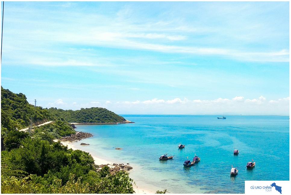 Bãi Xếp Cù Lao Chàm với các rạng san hô đẹp tuyệt vời