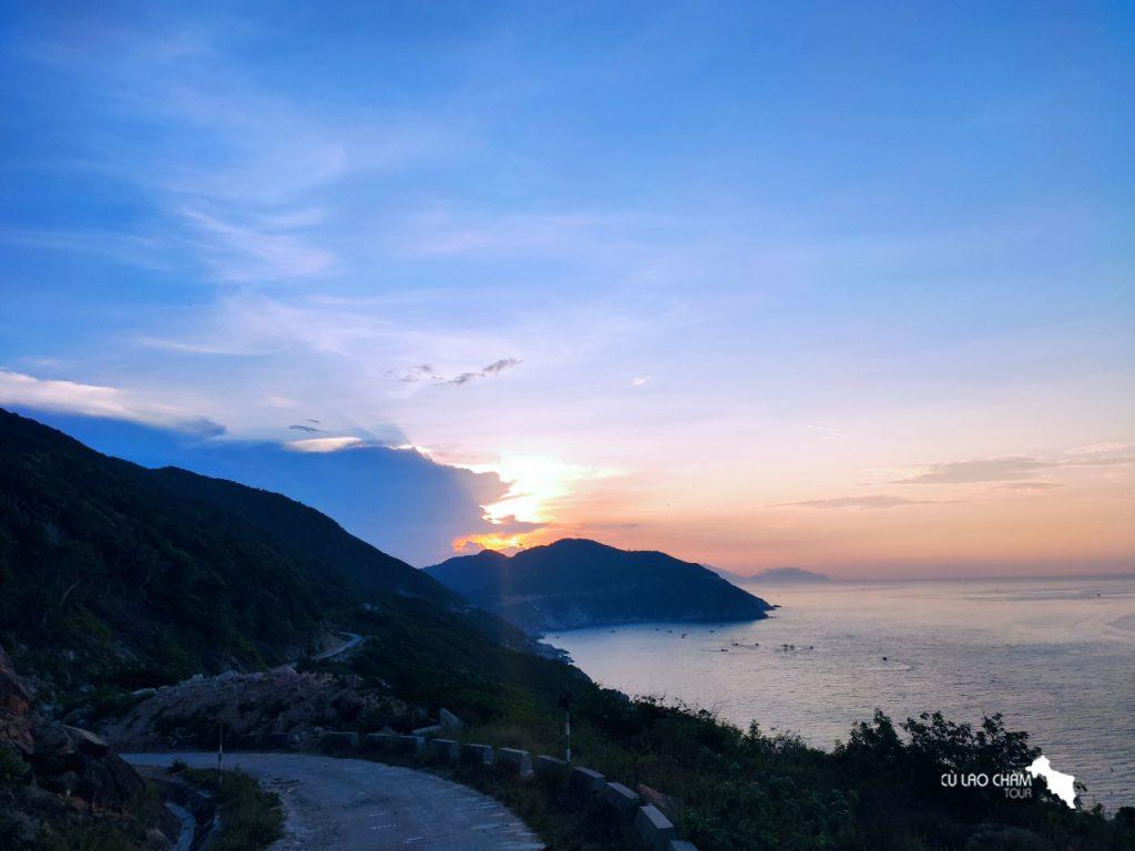 Đường di chuyển đến Eo Gió Cù Lao Chàm