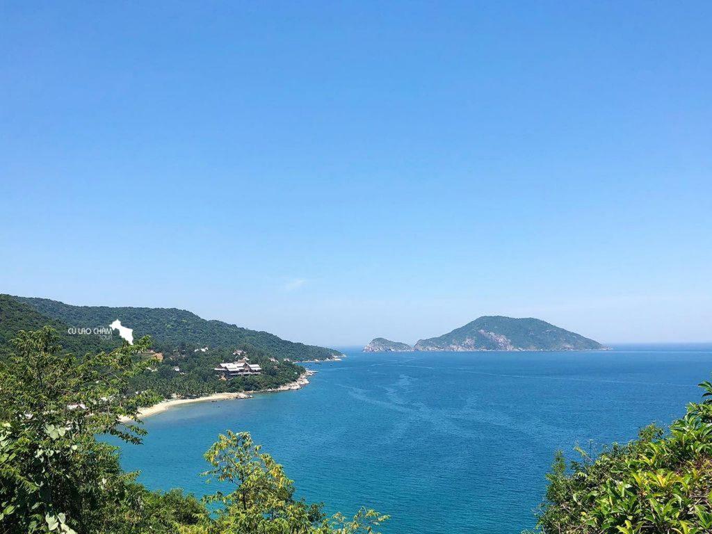 Toàn cảnh Bãi Bìm Cù Lao Chàm