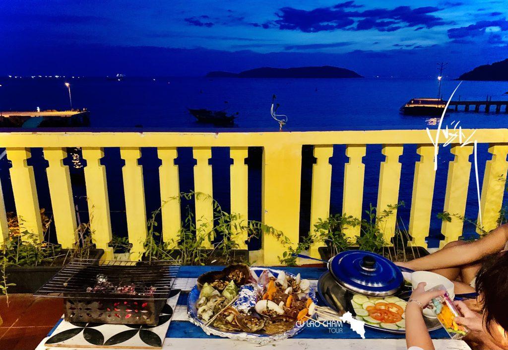 Ăn tối BBQ tại Cù Lao Chàm với không gian lãng mạn dành riêng cho bạn