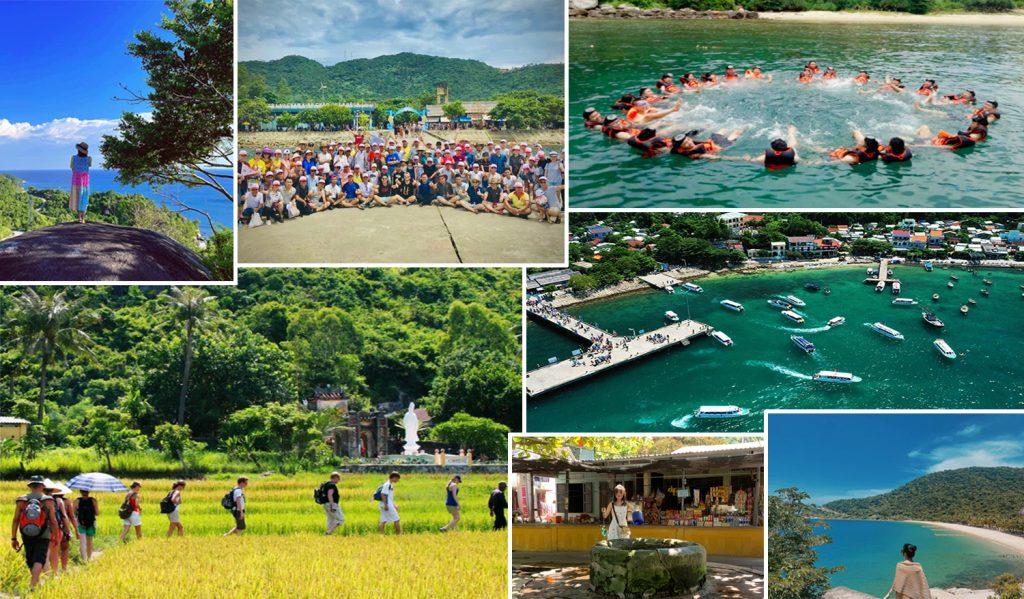 Các điểm tham quan trên đảo Cù Lao Chàm