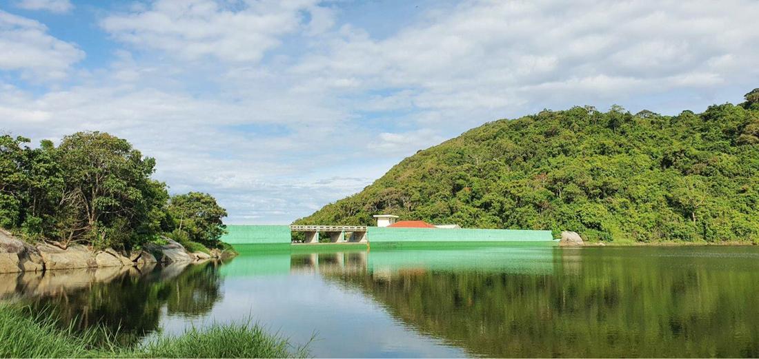 Hồ Bãi Bìm nơi cung cấp nước ngọt toàn đảo Cù Lao Chàm