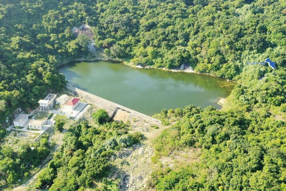 Hồ nước ngọt bãi Bìm cung cấp nước cho toàn đảo Cù Lao Chàm