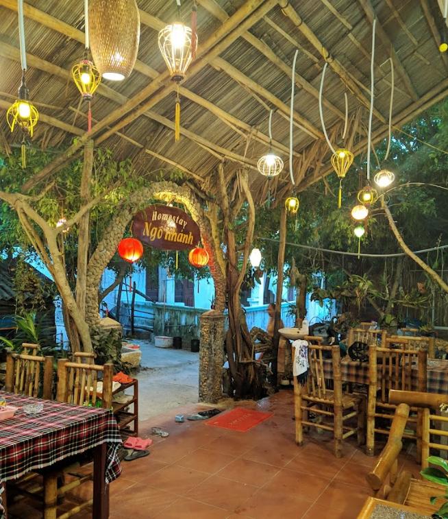 Homestay trên đảo Cù Lao Chàm khá yên bình và tỉnh lặng