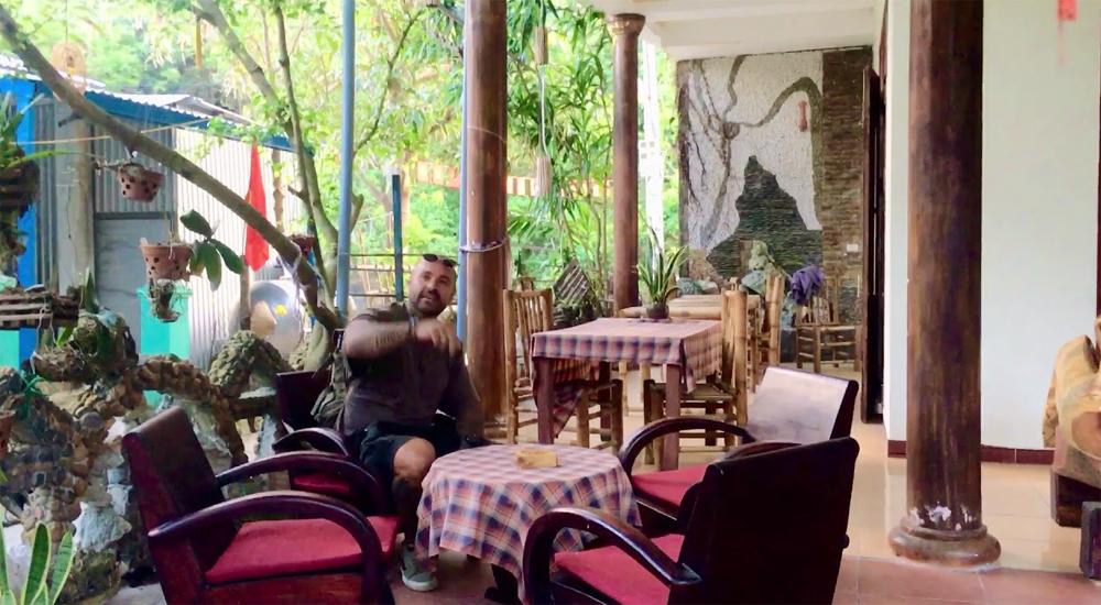 Khách nước ngoài lưu trú tạiNgô Khánh Homestay
