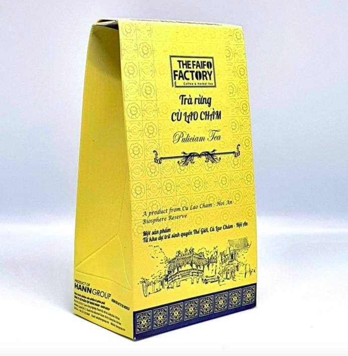 Sản phẩm trà được làm từ lá rừng Cù Lao Chàm