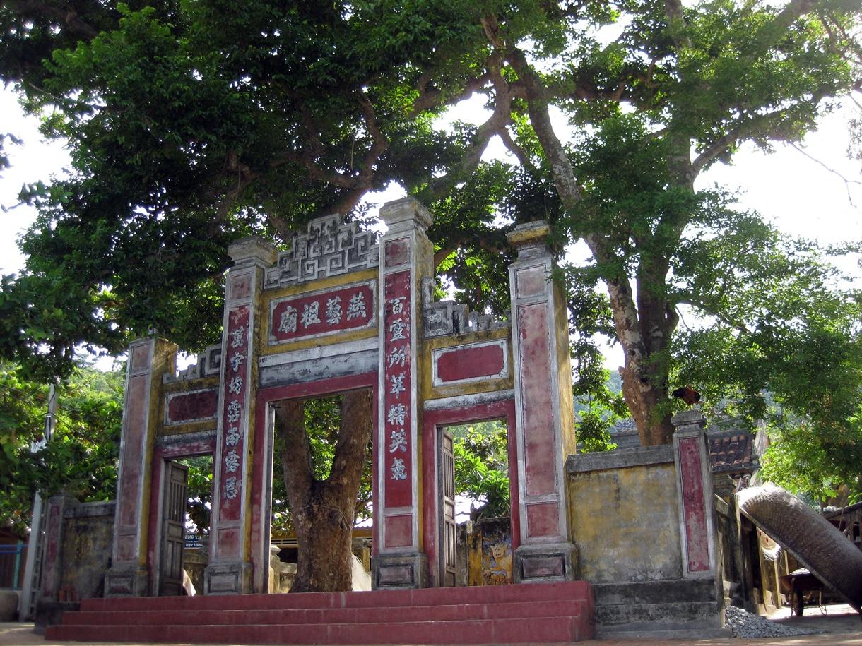 Tổ đình làng Yến Cù Lao Chàm