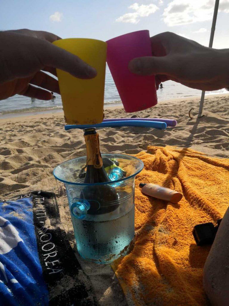 Thư giản trên bãi biển