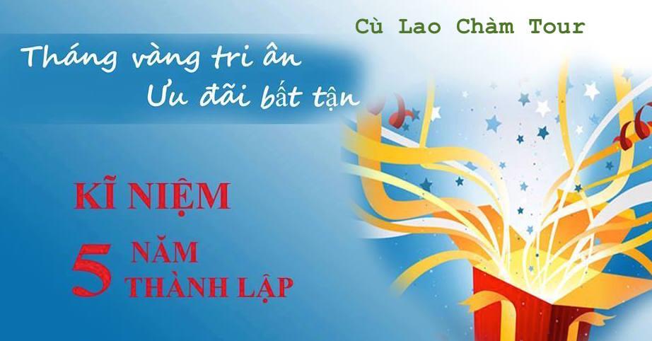 Tri ân khách hàng Cù Lao Chàm