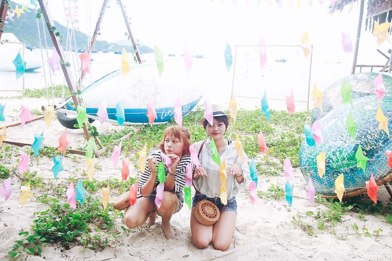 Du khách tham gia tour Cù Lao Chàm