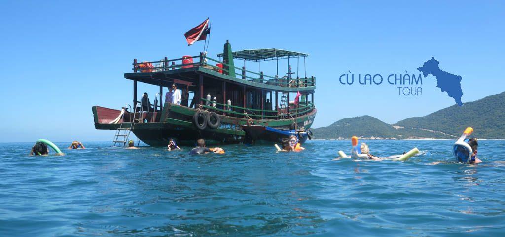 Tàu gổ lặn biển Cù Lao Chàm