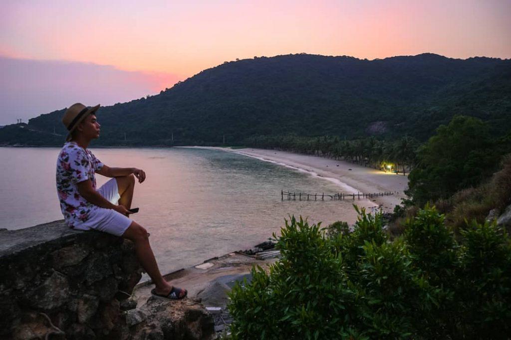 Biển Cù Lao Chàm về đêm