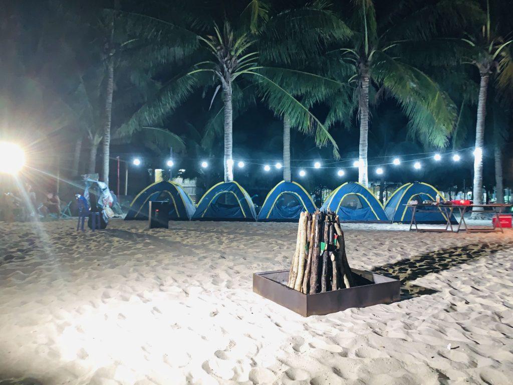 Lều ngủ Cù Lao Chàm