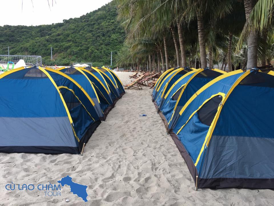 Cho thuê Lều Cù Lao Chàm